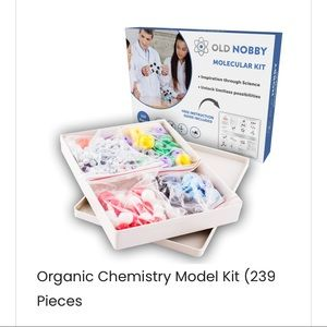 NEW OLD NOBBY MOLECULAR KIT 239 pieces